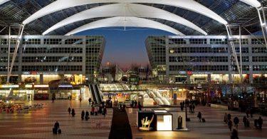 ミュンヘン空港の乗客数は11.1万人に減少