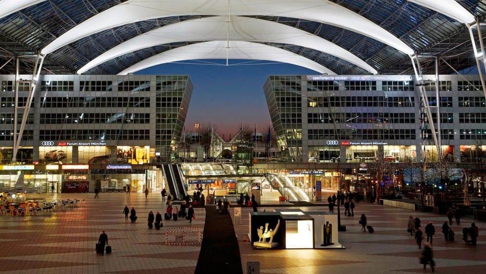 München lufthavn passasjertall synker til 11.1 millioner