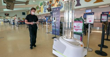 Florida Keys Tourism: 'Name' COVID-19-fighting robot at Key West Airport