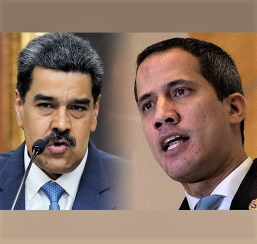 Guaido og Maduro