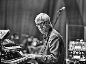 Bill Rieflin photo by Tony Levin