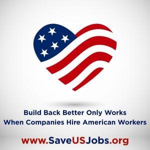 هل تعرف شركة توظف موظفين محترفين؟ قم بإحالتهم إلى Recruiting for Good لمساعدة القوى العاملة الأمريكية #positiveamericana #saveusjobs www.SaveUsJobs.org