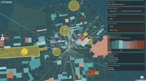 CITYDASH.ai Census Demographic Open Data Dashboard (powered by CITYDATA.ai)