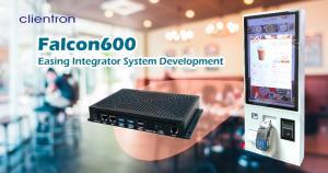 Clientron Falcon600 – The Key to Kingly Kiosks