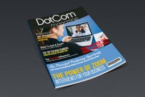"""DotCom Magazine """"The Zoom Interview Issue"""""""