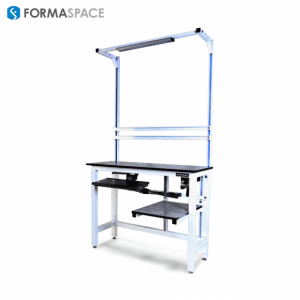 height adjustable pharmaceutical workbench