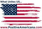 drapeau américain positif