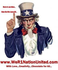 Share ընտանիքի և ընկերների հետ # positiveamericana www.WeR1NationUnited.com