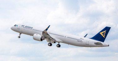 Air Astana firîna Frankfurt-Atyrau dide destpê kirin