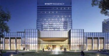 Otêla nû Hyatt Regency li Çînê vedike