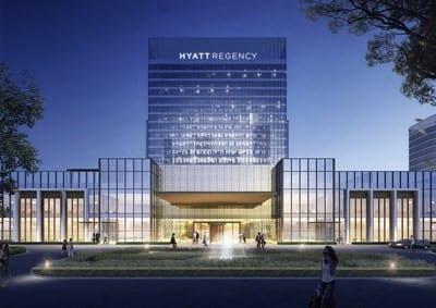 New Hyatt Regency otèl louvri nan Lachin