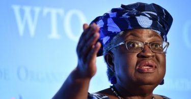 나이지리아 전 재무 장관 인 Ngozi Okonjo-Iweala, 차기 WTO 사무 총장으로 임명
