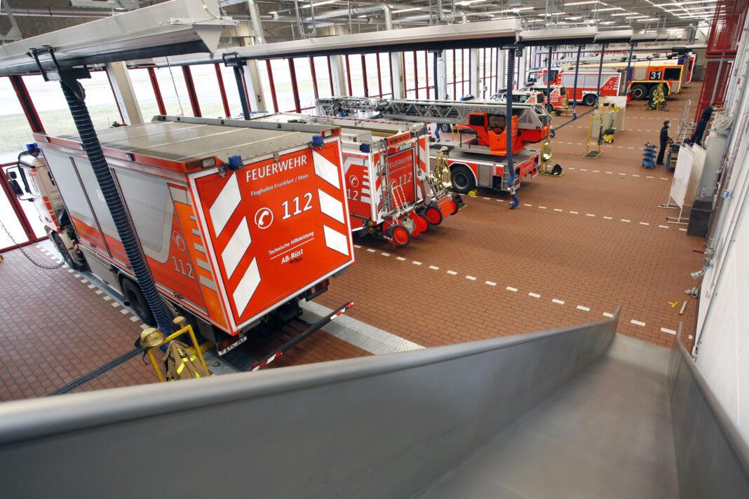 La nova Fajrostacio 1 de Frankfurta Flughaveno nun funkcias