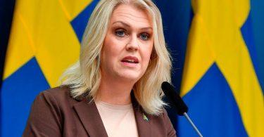 Sweden's minister fan sûnens Lena Hallengren