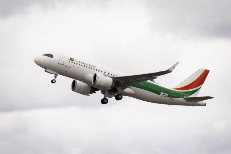 Ny Air Côte d'Ivoire dia mandray ny Airbus A320neo voalohany