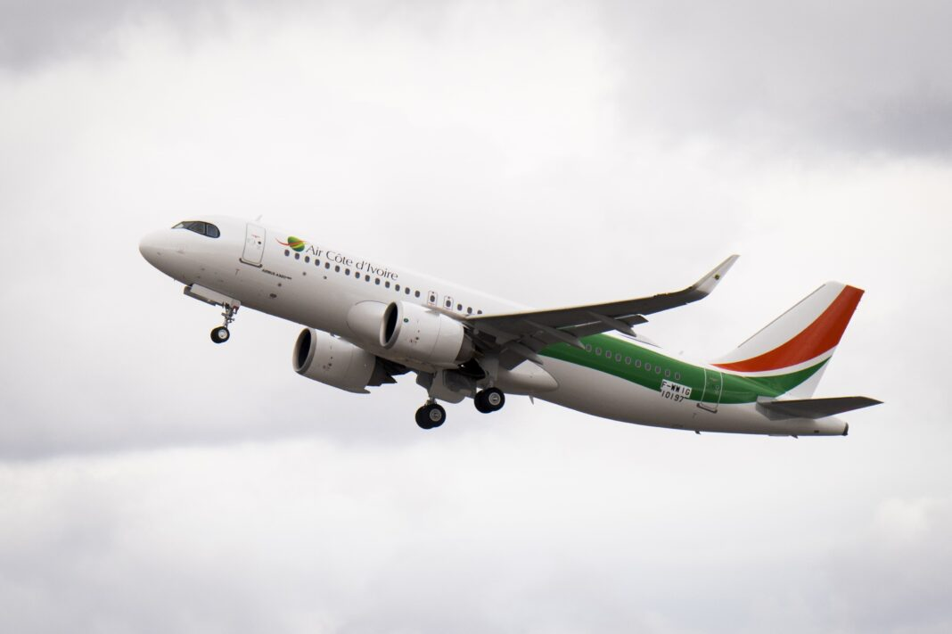 Air Côte d'Ivoire receives its first Airbus A320neo