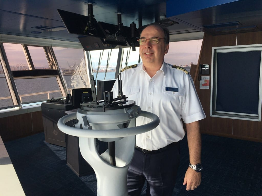 Holland America Line names captain for new Rotterdam cruise ship