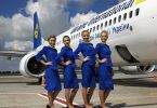 Ukraine International Airlines begin met die lente weer begin van vlugte