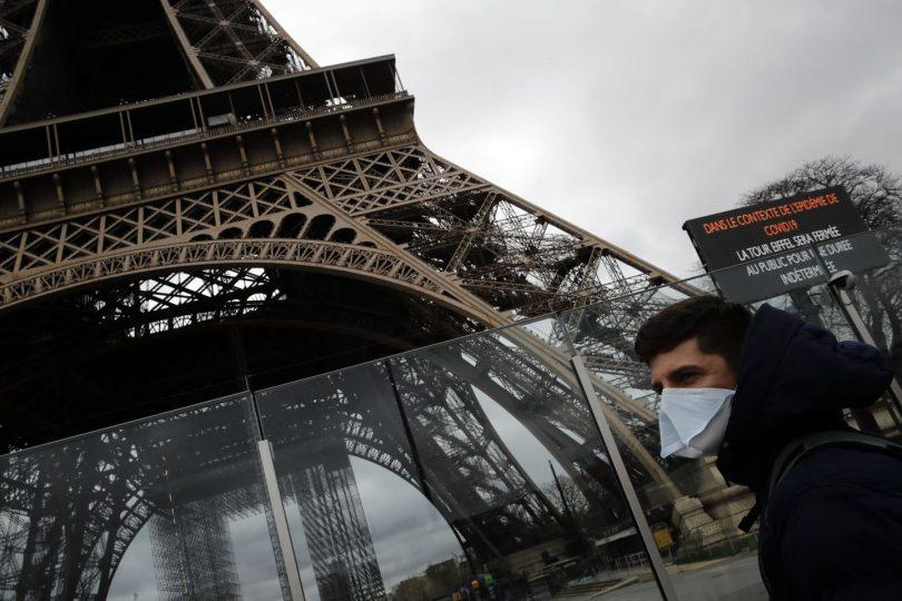 COVID-19 पर फ्रांस ने नए प्रतिबंध और तालाबंदी को विफल कर दिया