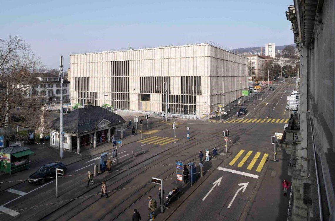 Museum Kunsthaus Zurich sil yn oktober 2021 massale nije útwreiding ûntbleate