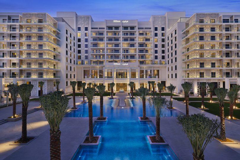 Hilton Abu Dhabi Yas Island abre suas portas para os hóspedes