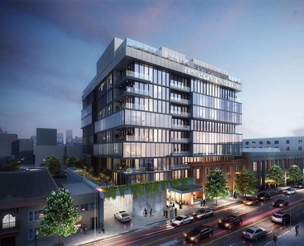 Թոմփսոն հոլիվուդյան հյուրանոցը հայտարարում է ղեկավարության նշանակման նշանակման մասին