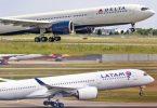 Delta și LATAM primesc aprobarea finală pentru acordul întreprinderii mixte din Brazilia