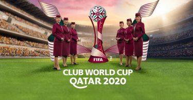 Qatar Airways navê Balafirgeha Fermî ya Kûpaya Cîhanê ya Klûba FIFA kir