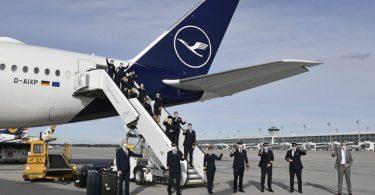 Lufthansa firîna rekor-şikestinê temam kir