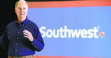 Southwest Airlines kunngjør lederendringer