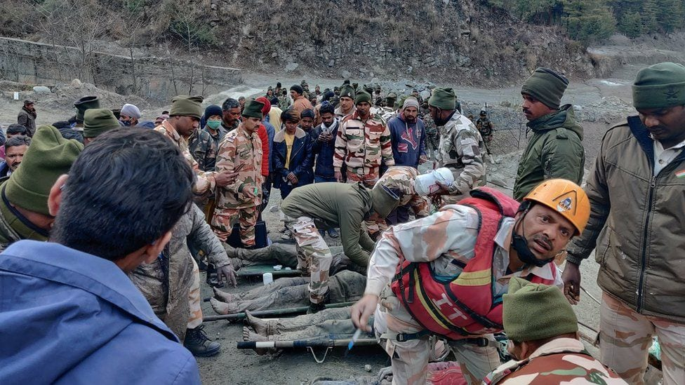 India's glacier disaster death toll rises to 24