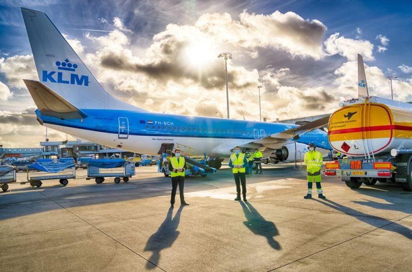 KLM Royal Dutch Airlines: první let na syntetické palivo na světě