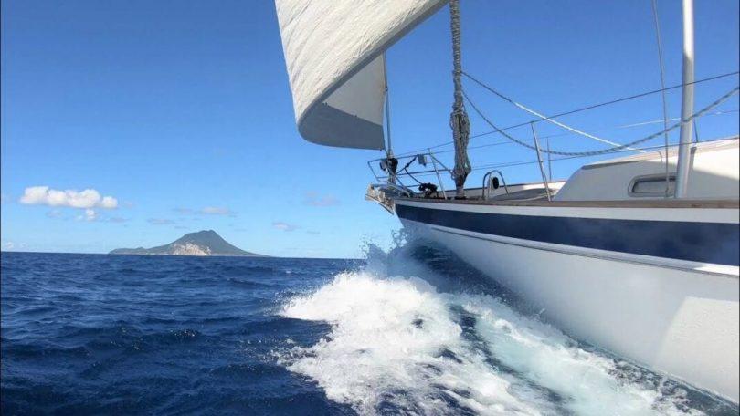 COVID-19-purjehdussäännöt, jotka on annettu Alankomaiden Karibian saarelle St.Eustatiusille