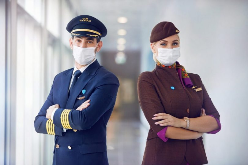 Etihad Airways first airline in the world with 100% of crew vaccinated