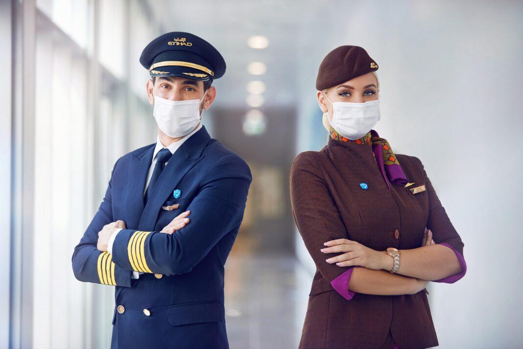 Etihad Airways eerste luchtvaartmaatschappij ter wereld met 100% van de bemanning gevaccineerd