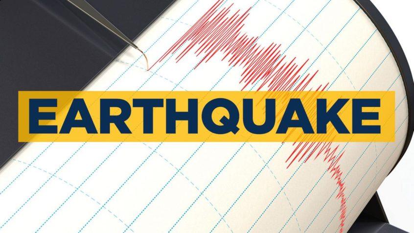 Sterkt jordskjelv rammer New Britain-regionen, Papua Ny-Guinea
