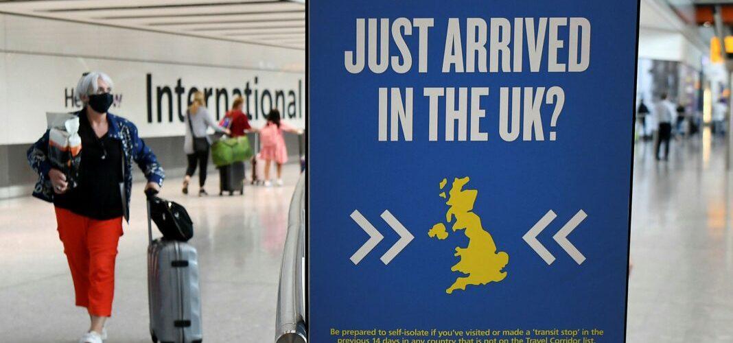 Heathrow: drafitra Quarantine ho an'ireo tonga avy any amin'ny toerana mafana COVID-19 mbola tsy vonona