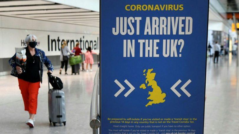 希思罗机场:仍未准备好从COVID-19热点到达的隔离计划