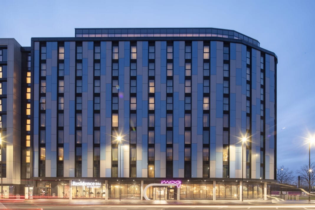 Marriott International opens first UK dual-branded property
