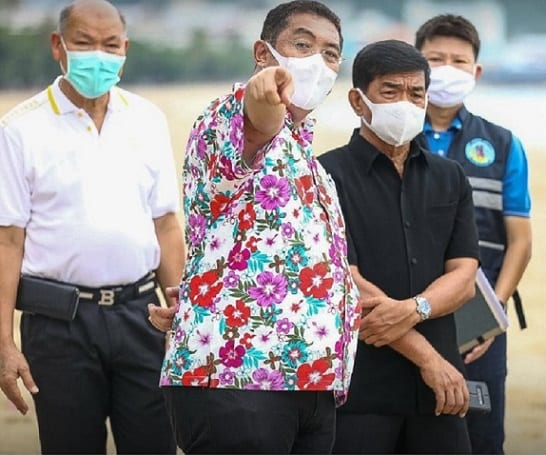 Pattaya area quarantine safe bubble