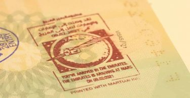 """Návštěvníci Spojených arabských emirátů obdrží při příjezdu razítko do pasu """"Martian Ink"""""""