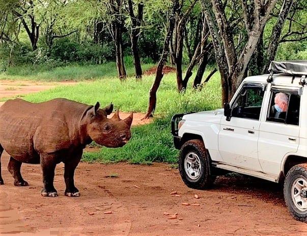 Ambassadeur des États-Unis au parc national de Mkomazi