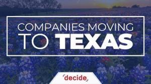 Kompanioj Moviĝantaj Al Teksaso