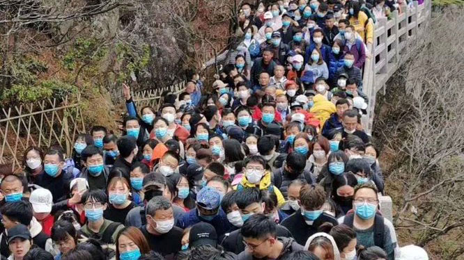Čínské odvětví cestovního ruchu vykazuje silné oživení