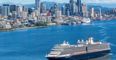 يوقف خط Holland America Line جميع رحلات ألاسكا البحرية من سياتل مؤقتًا