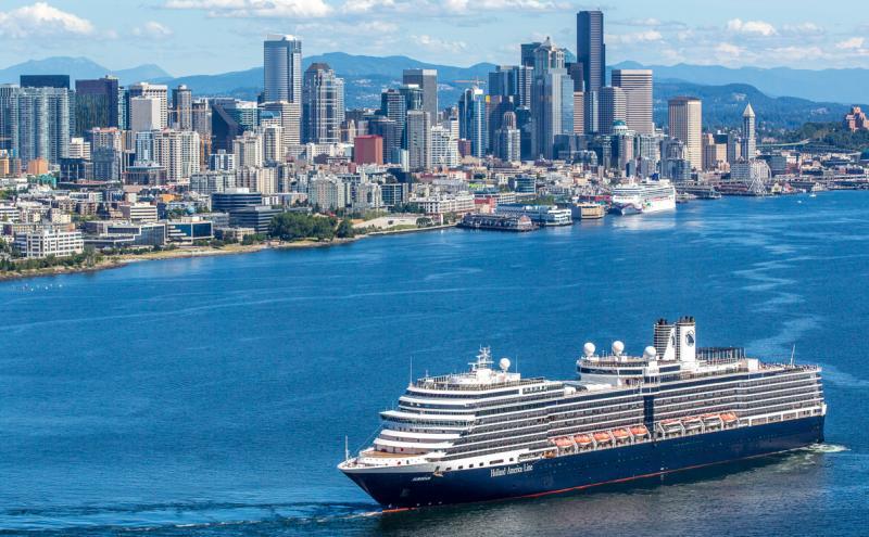 Holland America Line pauzeert alle Alaska-cruises dy't fanút Seattle farre