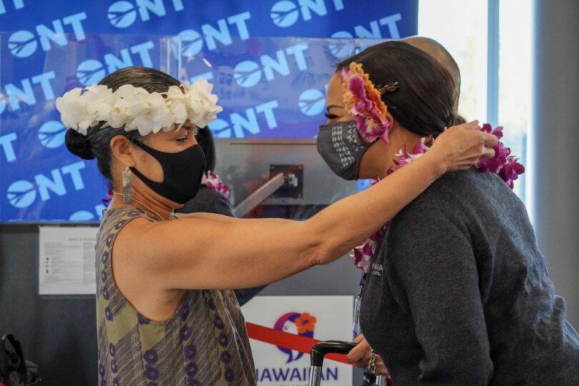 ハワイアン航空がオンタリオ-ホノルルサービスを開始