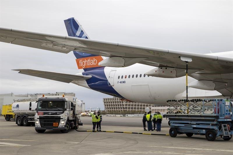 Mimiti di-hiber 100% studi émisi bahan bakar penerbangan sustainable dina panumpang jet diluncurkeun