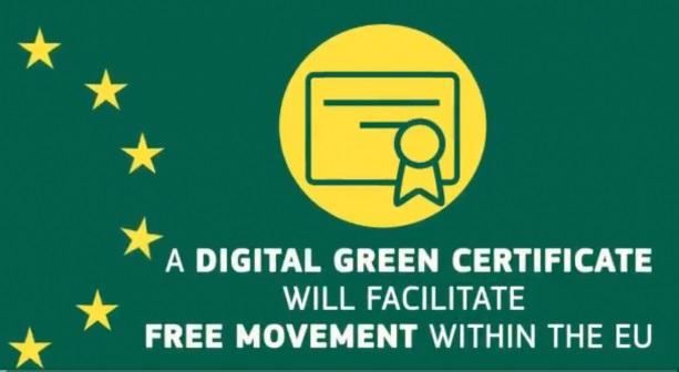 EU objavio digitalni zeleni certifikat za putnike cijepljene protiv COVID-19