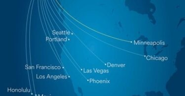 Alaska Airlines tilføjer ny direkte flyvning fra Anchorage til Minneapolis-St. Paul